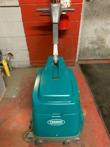 Tennant T1 Lithium Ion Walk Behind Floor Scrubber 464 Hrs Unit Only
