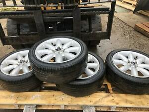2005 2006 Mini Cooper 17 Inch Rim Set Shows Wear Please See Photos No Tires Oem