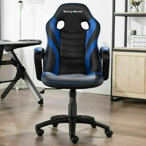 360 Swivel Office Chair Racing Comfortable Gaming Chair Breathable Pu Leather