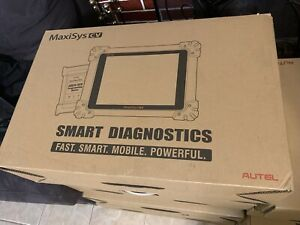Autel Maxisys Cv Hd Heavy Duty Diesel Truck Diagnostic Scanner Tool Ecu Program