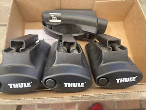 Thule 450r Rapid Crossroad Foot Pack Roof Ski Bike Kayak Rack Set Of 4 Feet Look
