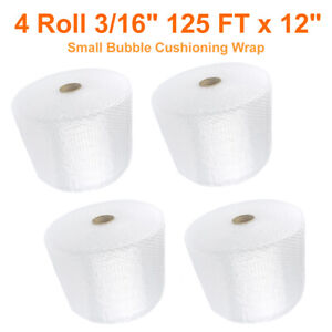 500 ft X12 Reusable 3 16 Small Bubble Protection Shipping Packing Wrap Roll