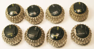 Used Lot Of 8 Ibm Selectric Typewriter Head Ball Book Face Etc