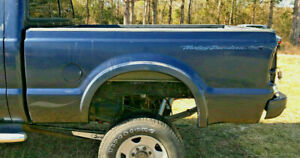 1999 2010 Ford F250 Super Duty Short Wheel Base Bed Box 6 Blue Minor Damage