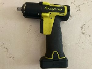 Snap On Tools Ct761ahv 14 4v 3 8 Impact Driver Hi Viz Yellow W Battery Only