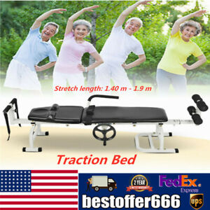 Therapy Massage Table Lumbar Stretch Device Traction Spine Lumbar Stretch Equip