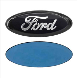 Ford 7 Inch Front Grille Tailgate Emblem 3d Oval 3m Double Side Adhesive black