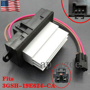 Heater Blower Motor Fan Resistor Control Module For 2003 07 Hummer H2 19329838