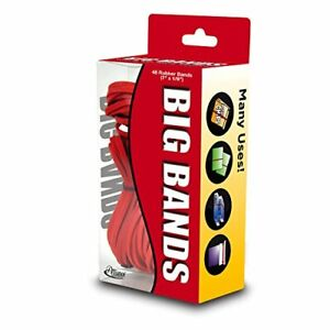 Alliance Rubber 00699 Big Bands For Oversized Jobs 48 Pack Of Large Elastic B