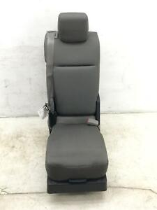 2015 2020 Ford F150 Front Center Console Stationary Seat Grey Cloth Mg Oem