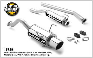 2002 2005 Acura Rsx L4 2 0l Type S Single Magnaflow Cat back Exhaust System New