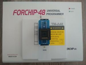 Forchip 48 Tm a48 Universal Device Chip Programmer With Pa44 48u Chip Adapter