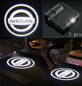 Logo Wireless Led Courtesy Car Door Ghost Shadow Projector Light Fit All Nissan