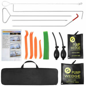 13 X Truck Car Window Lockout Professional Kit With Air Wedge Non Marring Wedge