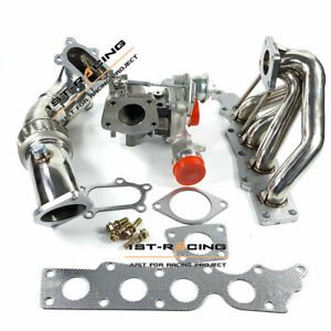K0422 582 Turbocharger 3 Down Pipe Exhaust Manifold Fit Mazdaspeed Cx7 2 3l