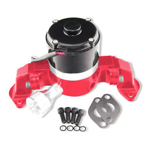 Aluminum Red 35 Gpm High Flow Electric Water Pump For Bbc 396 454 502 Chevy