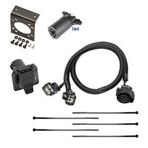 Trailer Hitch Wiring W Bracket Adapt For 2015 2020 Land Rover Range Rover W Tow