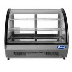 Atosa Crdc 35 3 5 Cu Ft Countertop Refrigerated Display Case