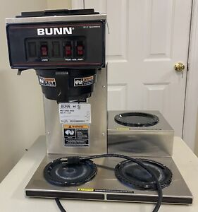Bunn Vp17 3 Commercial Restaurant Pour over Coffee Maker Brewer 3 Warmers Nsf