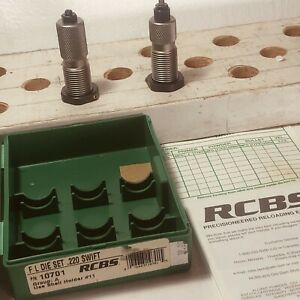 RCBS 220 SWIFT GROUP A SWIFT SEAT 9 amp; FL 8 amp; SPACERS GUIDE BOX NOS $39.00