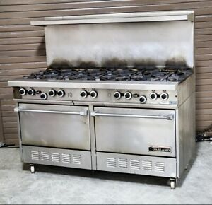 Garland 10 Burner Gas Stove With Double Oven