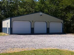 Pole Barn 40x30x12 Garage Material List Building Plans E delivery As Pdf File