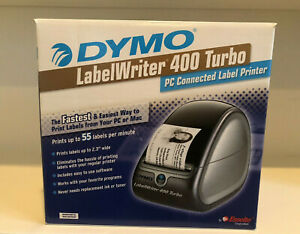 Dymo Labelwriter 400 Turbo Pc mac Connected Label Stamp Postage Printer New