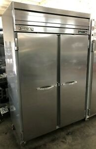 Beverage air Er48 1as 46 Cu ft 52 Reach in Refrigerator W Left Right Doors