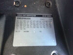 Driver Front Seat Bucket Leather Electric Fits 07 09 Equinox 3447212