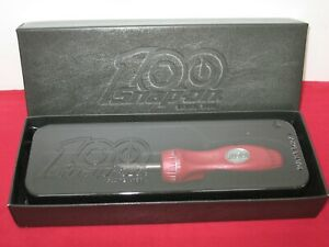 Snap on Tools 100th Anniversary Collectors Ratcheting Screwdriver Ltd Edition
