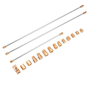 Front Line Lock Brake Line And Copper Fittings Install Hardware Assembly Kit
