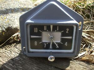 1957 Ford Dash Clock Ranchero Fairlane Skyliner And Others