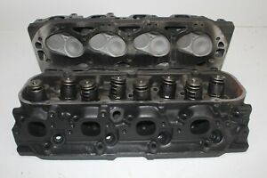 Gm 10114156 Big Block Chevy 454 Oval Port Cylinder Heads Gen V Open Chamber