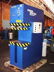50 Ton 12 Strk Pressmaster Cfp 50 Hydraulic Press