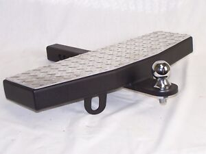 24 Wide 2 Receiver Trailer Towing Extension Hitch Step Made In The Usa