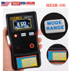 Mesr 100 V2 Esr Capacitor Tester Meter 0 001 To 100r Auto Ranging In Circuit Us