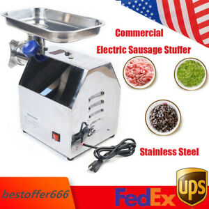 Electric Meat Grinder Commercial Electric Sausage Stuffing Maker Stainless Steel