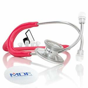 Mdf Acoustica Lightweight Stethoscope Adult Dual Head Free parts Raspberry