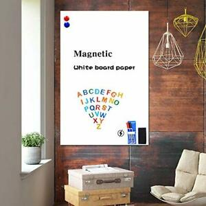 White Board Stickers 39 x 18 Magnetic Whiteboard Dry Erase 39 18 Inches