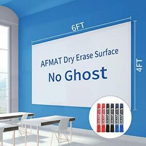 Dry Erase Whiteboard Paper Large White Board Stickers For Wall 6 Markers
