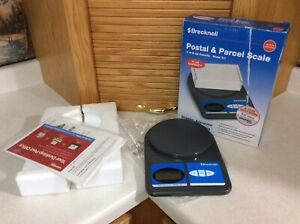 Postal And Parcel Scale Brecknell 11 Lb Capacity Model 311 Lcd Oz Pound Weigh