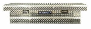 Lund 111002t 60 inch Economy Line Aluminum Cross Bed Truck Tool Box