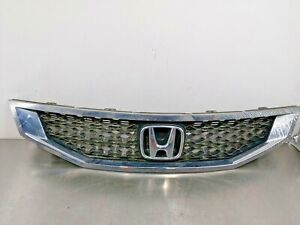 2008 Honda Accord Coupe Oem Factory Front Upper Grill Trim Panel Emblem 08 09 10