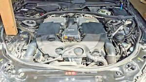2009 Mercedes Benz S Class S600 Cl600 Engine 5 5l Twin Turbo V12 Motor 71k Miles