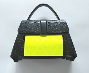Post it Alligator Purse Pop up Note Dispenser 90 3x3 Notes Nip Weighted New