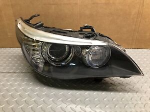 08 09 10 Bmw 5 Series E60 Lci Right Afs Xenon Headlight Headlamp Passenger Nice