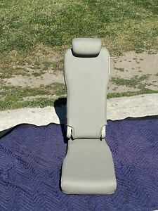 Toyota Sienna 2nd Row Middle Jump Seat In Tan Leather Seats