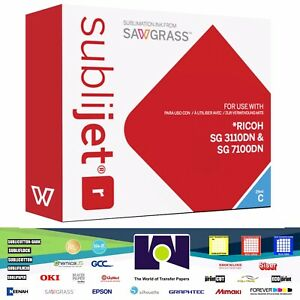 Sawgrass Sublijet r Sublimation Ink Cyan For Ricoh Sg 3110dn Sg 7110dn