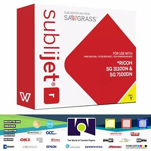 Sawgrass Sublijet r Sublimation Ink Yellow For Ricoh Sg 3110dn Sg 7110dn