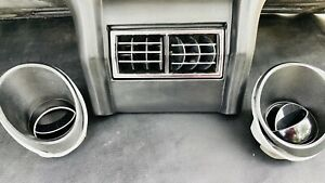 1969 1970 A c Dash Vents Ford Mustang Fastback Coupe Mach 1